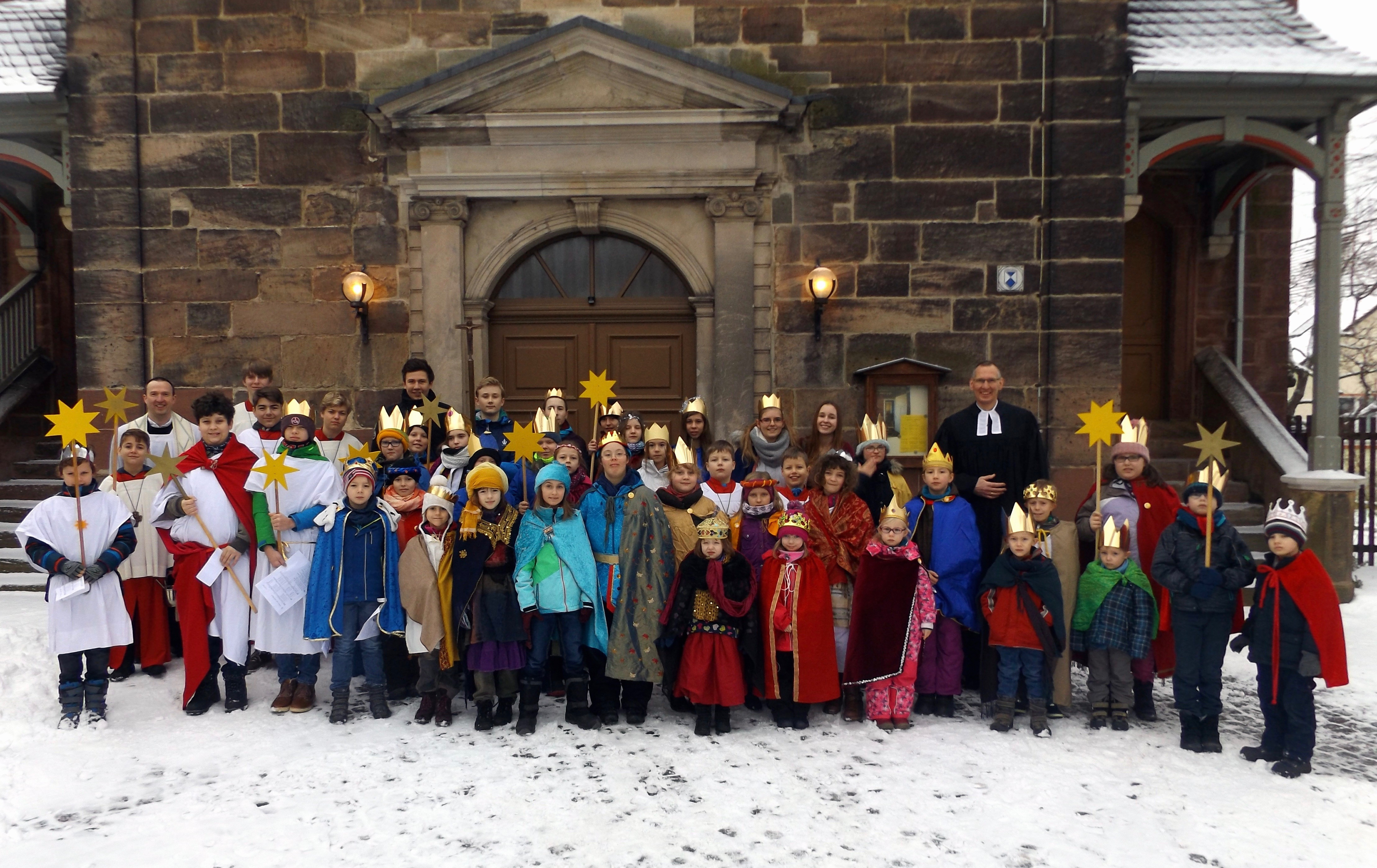 Sternsinger 2017 in Bad Berka